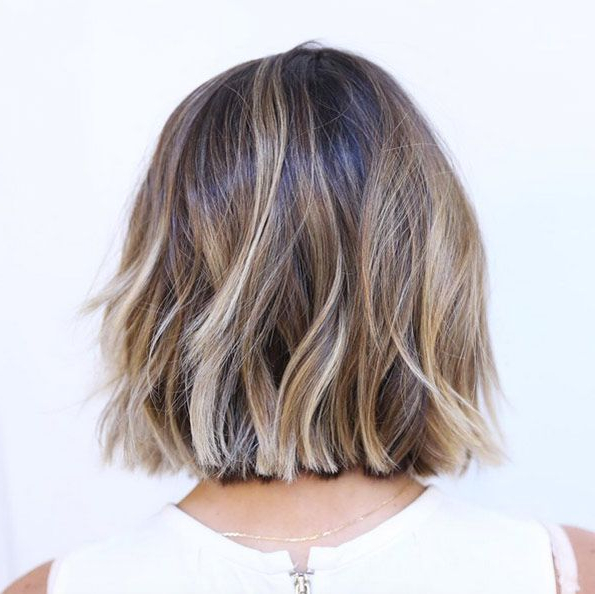 60 Popular Choppy Bob Hairstyles | {Short Hairstyles} | Pinterest Inside Choppy Wispy Blonde Balayage Bob Hairstyles (Gallery 7 of 25)