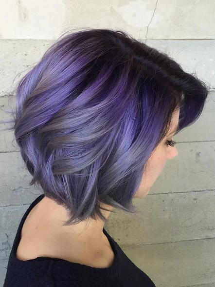 60 Popular Choppy Bob Hairstyles – Style Skinner For Choppy Brown And Lavender Bob Hairstyles (View 16 of 25)