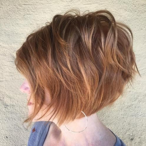 60 Short Shag Hairstyles That You Simply Can't Miss | Hair With Regard To Burgundy And Tangerine Piecey Bob Hairstyles (View 11 of 25)