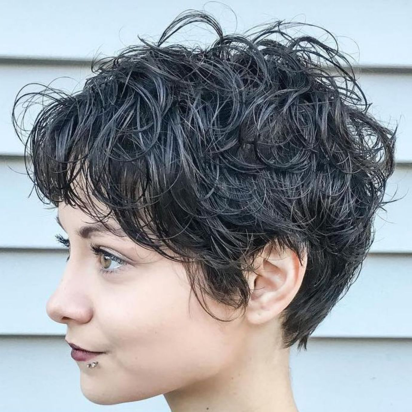 60 Short Shag Hairstyles That You Simply Can't Miss In 2018 | Short Within Long Messy Curly Pixie Haircuts (Gallery 7 of 25)