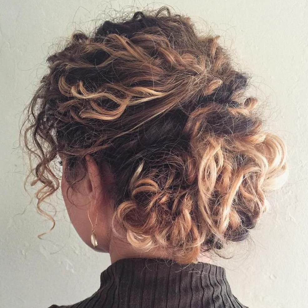 60 Styles And Cuts For Naturally Curly Hair | Hair | Pinterest With Short Messy Curly Hairstyles (Gallery 15 of 25)