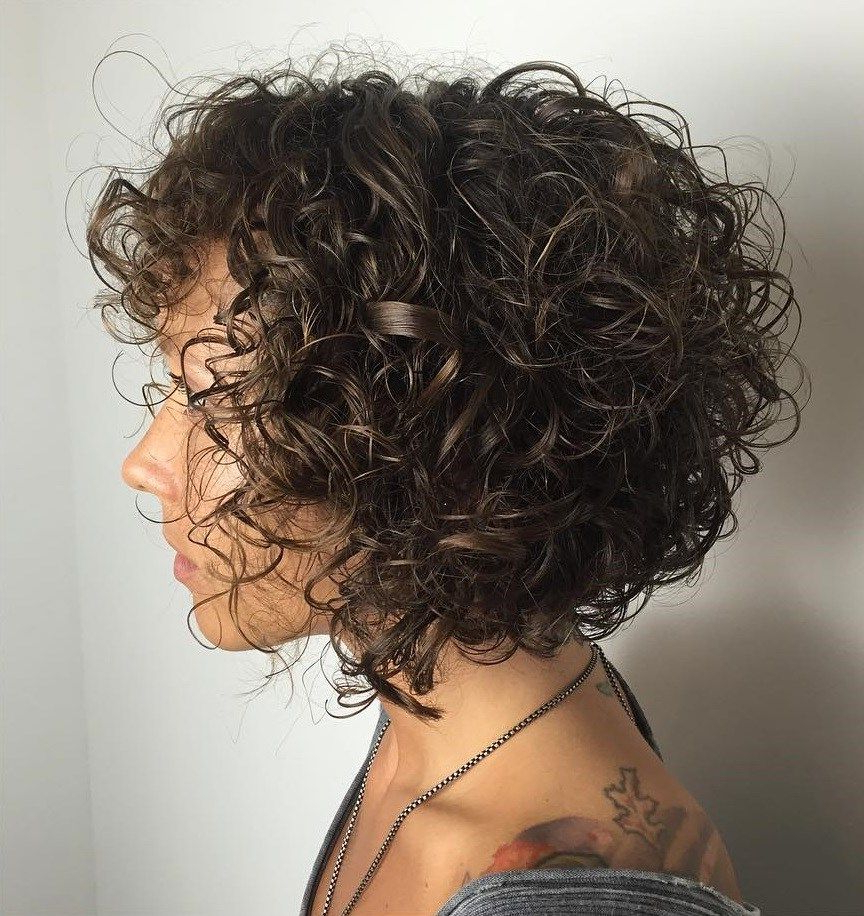 60 Styles And Cuts For Naturally Curly Hair In 2018 | Hair Within Black Wet Curly Bob Hairstyles With Subtle Highlights (Gallery 2 of 25)