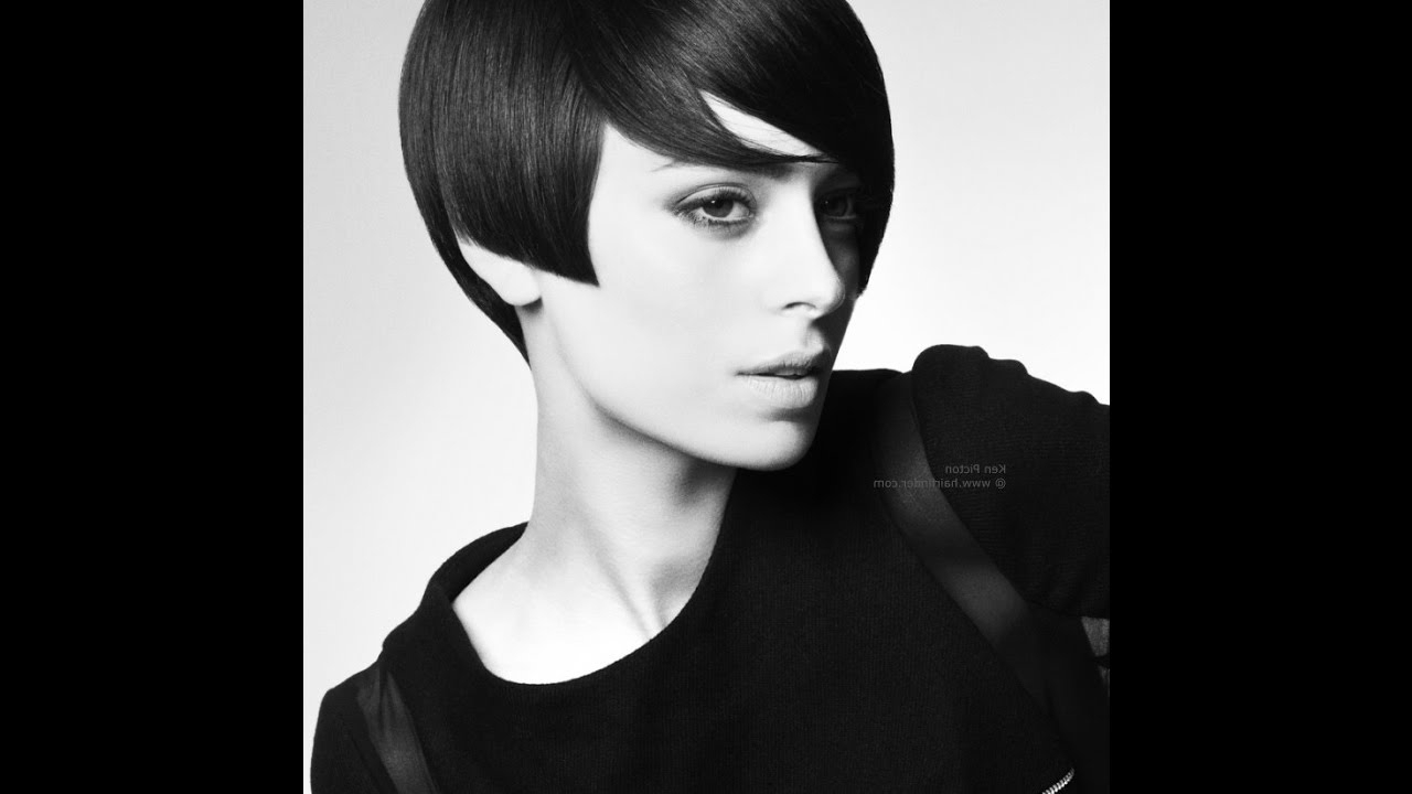 60's Hairstyles For Cute Short Hair – Youtube Pertaining To 1960S Short Hairstyles (Gallery 21 of 25)