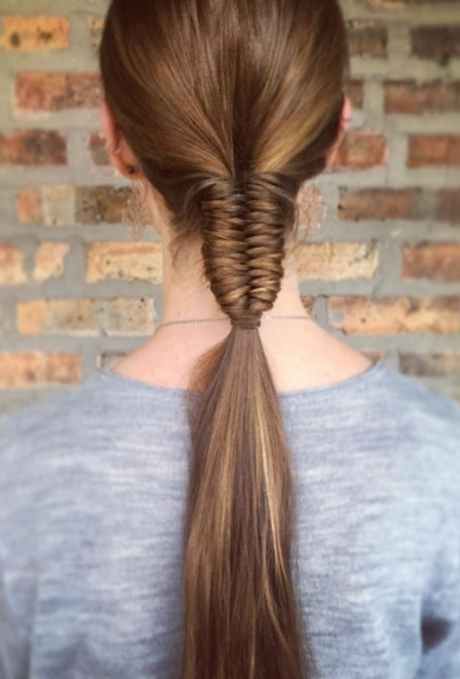 61 Braided Wedding Hairstyles | Brides Throughout Loosely Braided Ponytail Hairstyles (View 18 of 25)
