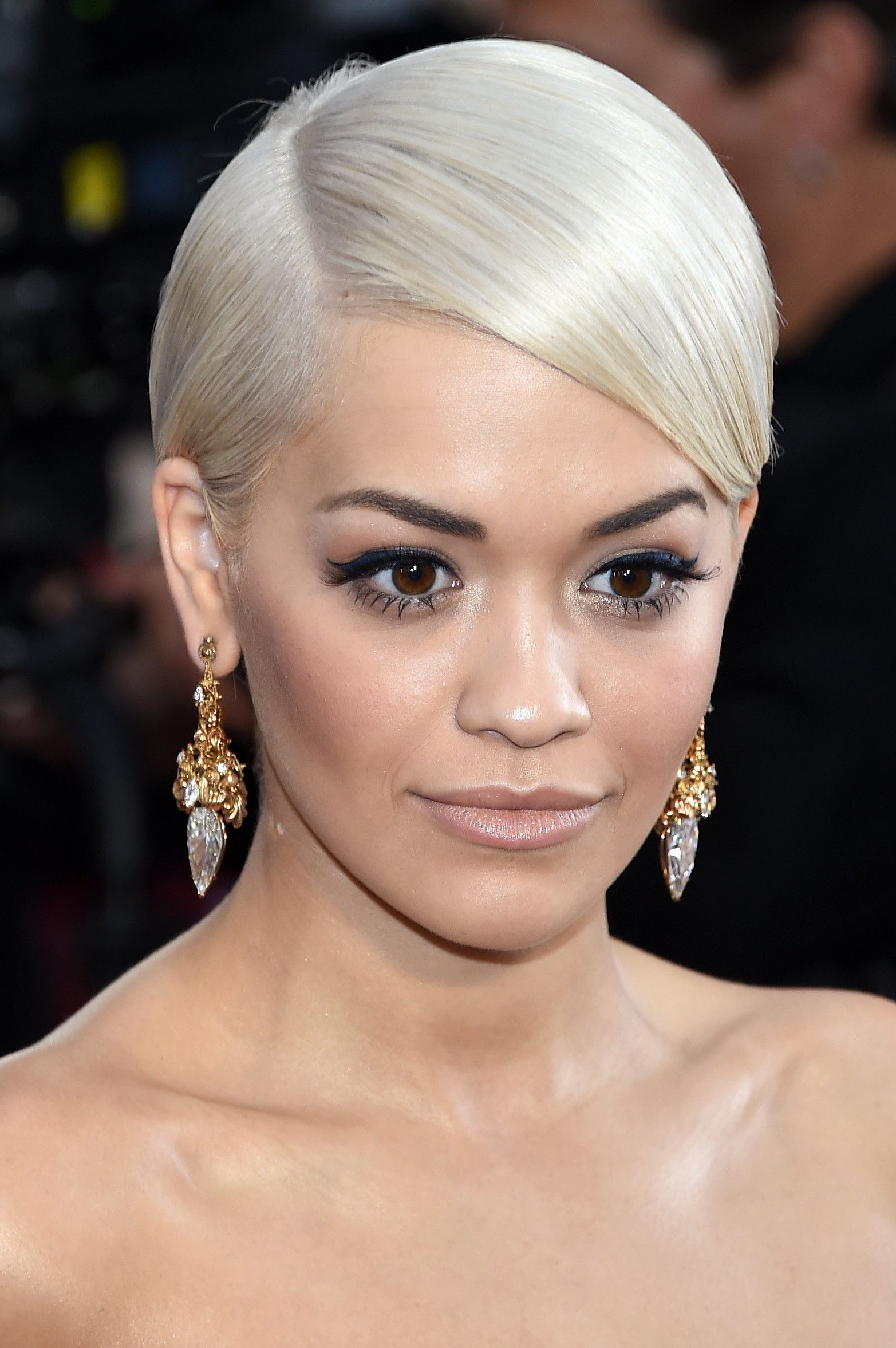 64 Short Hairstyles That Will Make You Want To Chop It All Off Pertaining To Rita Ora Short Hairstyles (View 13 of 25)