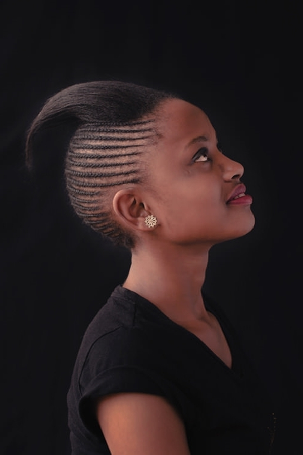 68 Inspiring Black Braid Hairstyles For Black Women – Style Easily For Artistically Undone Braid Ponytail Hairstyles (View 23 of 25)