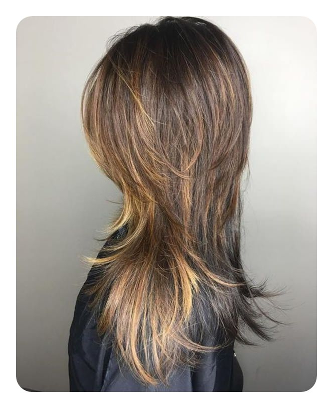 68 Long And Short Shag Haircuts For 2018 – Style Easily For Shaggy Layers Hairstyles For Thin Hair (Gallery 9 of 25)