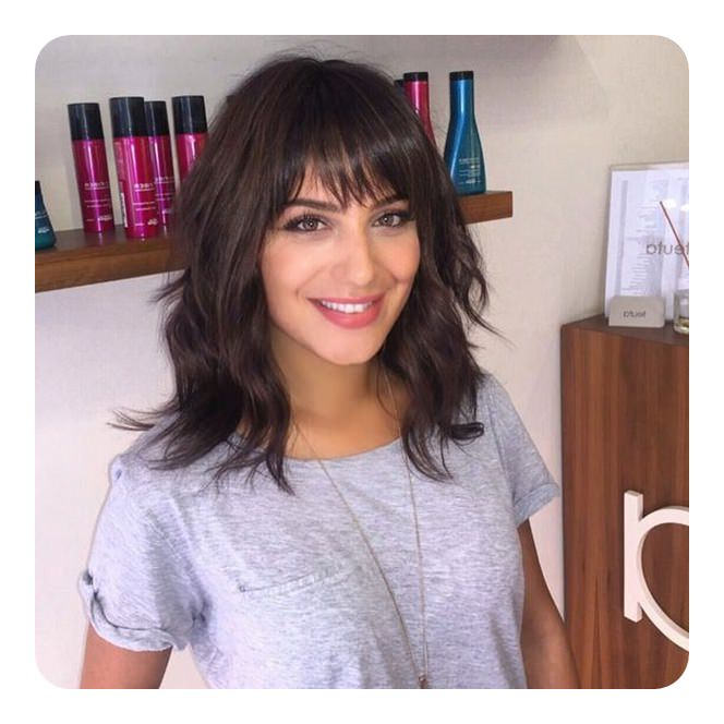 68 Long And Short Shag Haircuts For 2018 – Style Easily Within Short Gray Shag Hairstyles (Gallery 17 of 25)