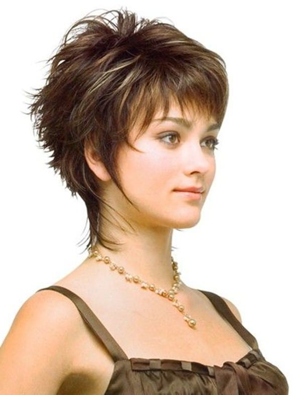 69 Gorgeous Ways To Make Layered Hair Pop Throughout Short Hairstyles With Flicks (Gallery 10 of 25)