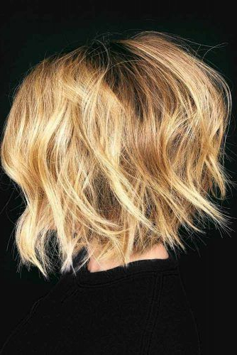 7 Beautiful Medium Bob Haircuts | Hairs | Pinterest | Hair Cuts In Dynamic Tousled Blonde Bob Hairstyles With Dark Underlayer (Gallery 12 of 25)