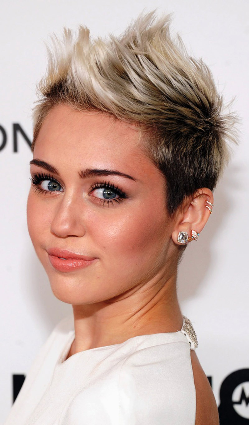 7. Funky Short Hairstyles For Women With Round Faces – Blogrope With Short Hairstyles For Women With Oval Face (Gallery 24 of 25)