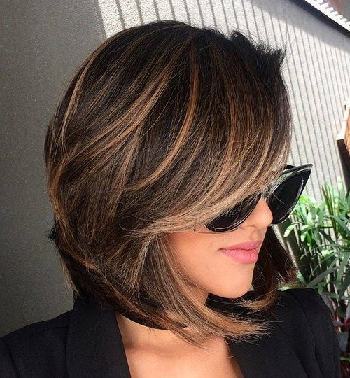 70 Best A Line Bob Hairstyles Screaming With Class And Style | Hair With Regard To Modern Chocolate Bob Haircuts (View 3 of 25)