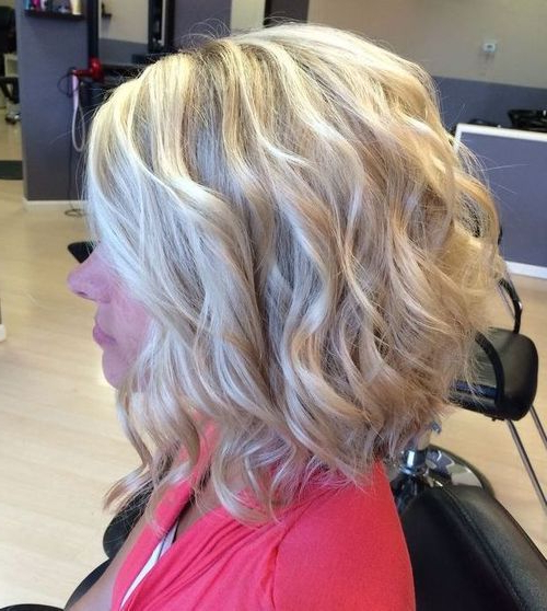 70 Best A Line Bob Hairstyles Screaming With Class And Style In 2018 With Butter Blonde A Line Bob Hairstyles (Gallery 8 of 25)