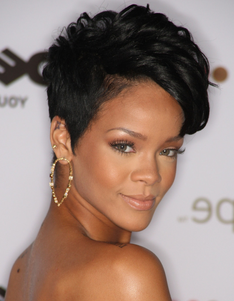 70 Best Short Hairstyles For Black Women With Thin Hair – Hairstyles With Regard To Short Haircuts For Black Women With Fine Hair (Gallery 3 of 25)