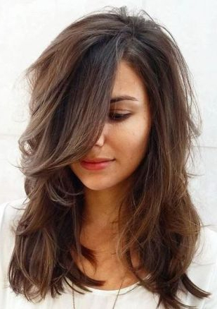 70 Brightest Medium Layered Haircuts To Light You Up In 2018 Pertaining To Layered Haircuts For Thick Hair (Gallery 7 of 25)