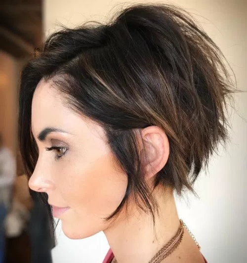 70 Cute And Easy Short Layered Hairstyles | Page 9 With Tousled Razored Bob Hairstyles (View 18 of 25)