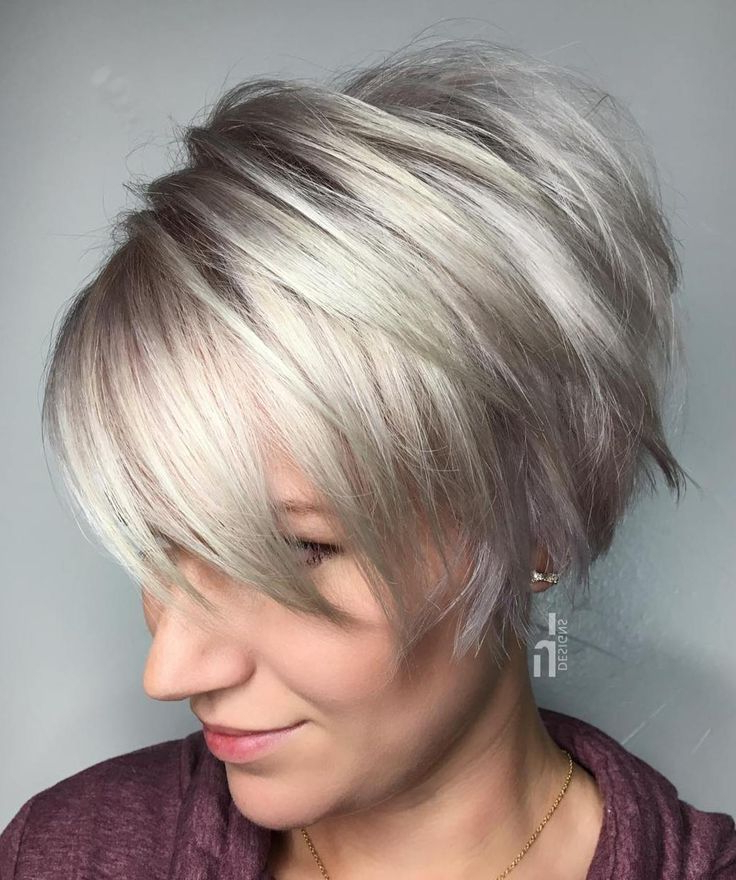 70 Cute And Easy To Style Short Layered Hairstyles | Short Hair Throughout Edgy Purple Tinted Pixie Haircuts (Gallery 5 of 25)