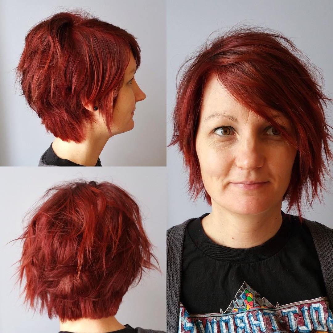 70 Devastatingly Cool Haircuts For Thin Hair | Hair | Pinterest Inside Choppy Short Haircuts (View 14 of 25)