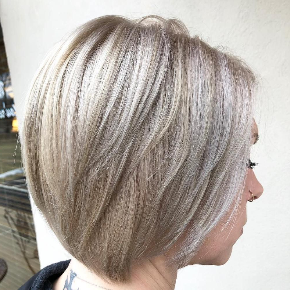 70 Fabulous Choppy Bob Hairstyles | Neck Length Hair | Pinterest In Nape Length Wavy Ash Brown Bob Hairstyles (Gallery 2 of 25)