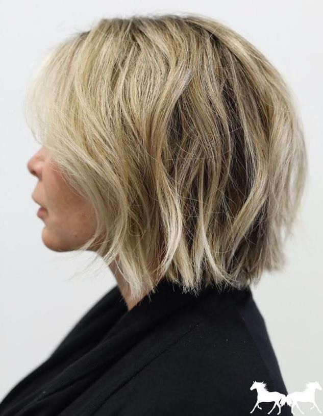 70 Fabulous Choppy Bob Hairstyles | Pretty Gray Hair | Pinterest Intended For Tousled Razored Bob Hairstyles (View 19 of 25)