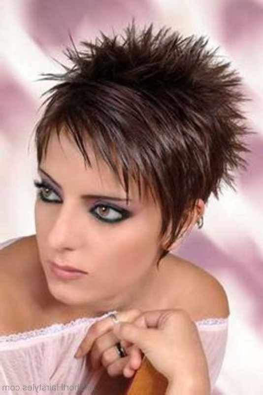 70 Fabulous Short Spiky Hairstyles Inside Short Spiked Haircuts (View 5 of 25)