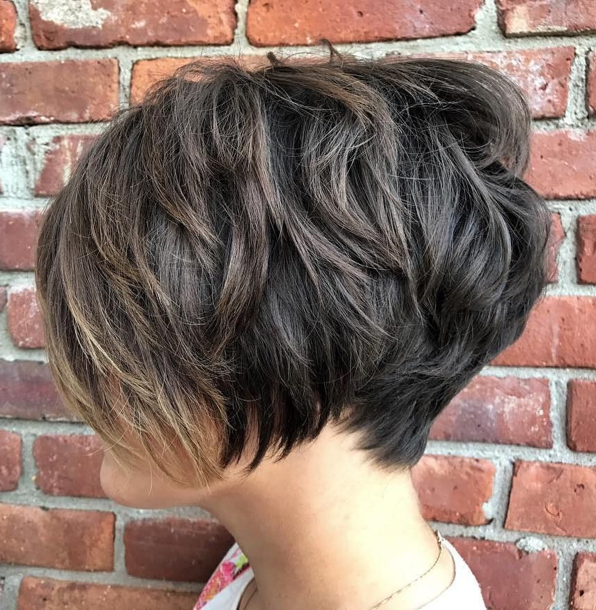 70 Short Shaggy, Spiky, Edgy Pixie Cuts And Hairstyles | Pixie Cut Inside Razored Pixie Bob Haircuts With Irregular Layers (Gallery 12 of 25)