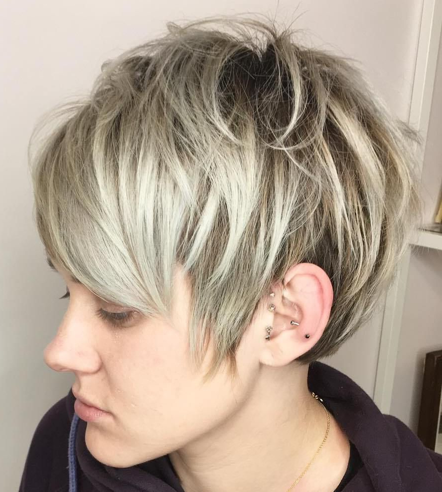 70 Short Shaggy, Spiky, Edgy Pixie Cuts And Hairstyles | Short Hair For Tousled Short Hairstyles (View 3 of 25)
