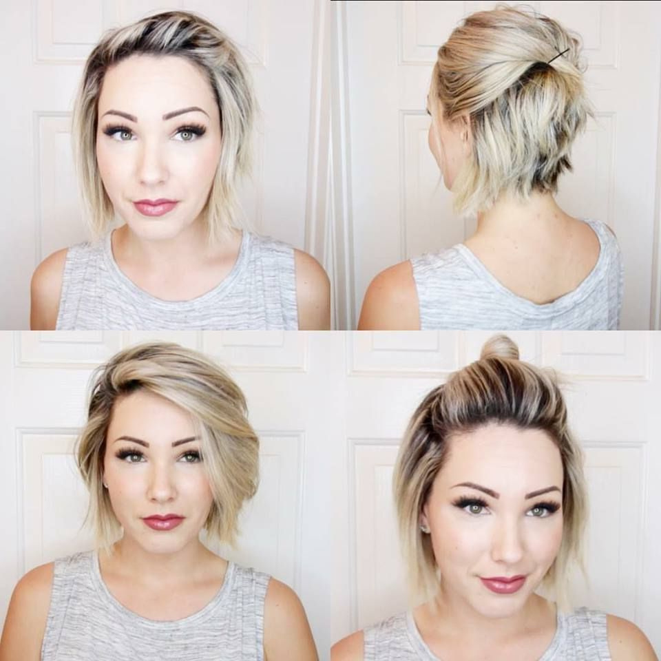 70 Short Teased Hairstyles New Pinmegiie On Short Hair Pinterest Regarding Teased Short Hairstyles (View 18 of 25)