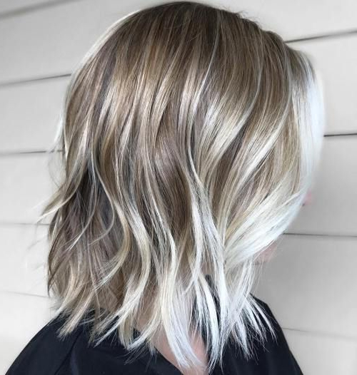 70 Winning Looks With Bob Haircuts For Fine Hair In 2018 | Cute Hair For Silver Balayage Bob Haircuts With Swoopy Layers (Gallery 6 of 25)