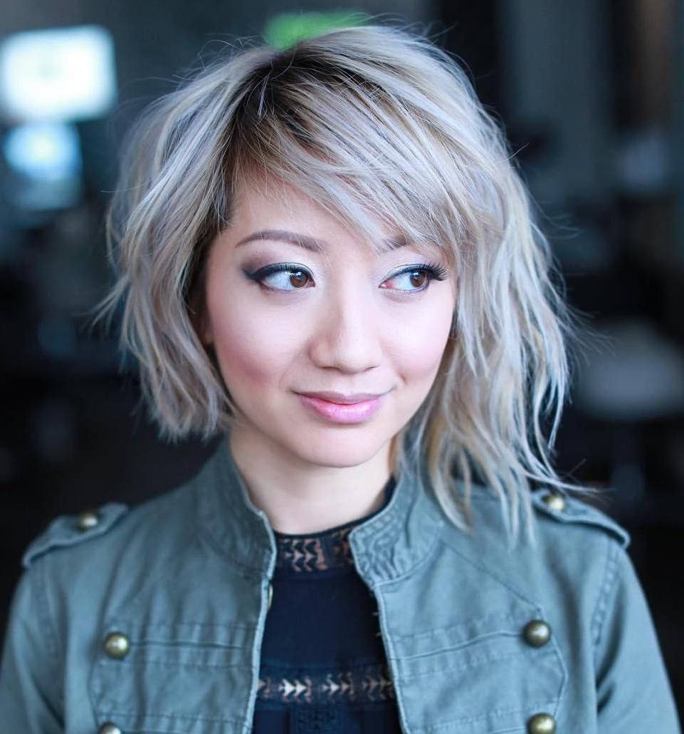 70 Winning Looks With Bob Haircuts For Fine Hair In 2018 | Hair Throughout Short Haircuts Bobs For Round Faces (Gallery 25 of 25)