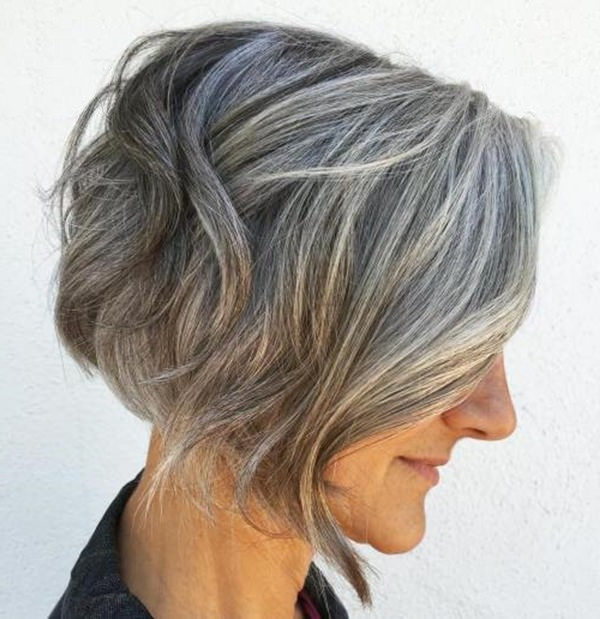 75 Amazing Hairstyles For Any Woman Over 40 – Style Easily With Regard To Butter Blonde A Line Bob Hairstyles (Gallery 25 of 25)