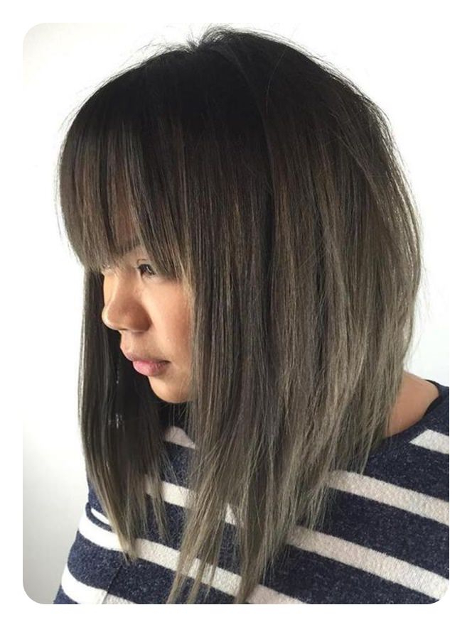 76 Long Bob Hairstyles That You'll Surely Love Throughout Perfectly Angled Caramel Bob Haircuts (View 11 of 25)