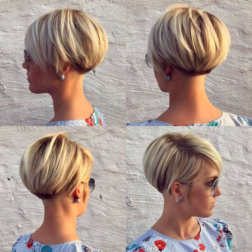 77 Older Womens Short Hairstyles 2017 Unique Short Hairstyles 2017 Inside Feminine Short Hairstyles For Women (Gallery 22 of 25)