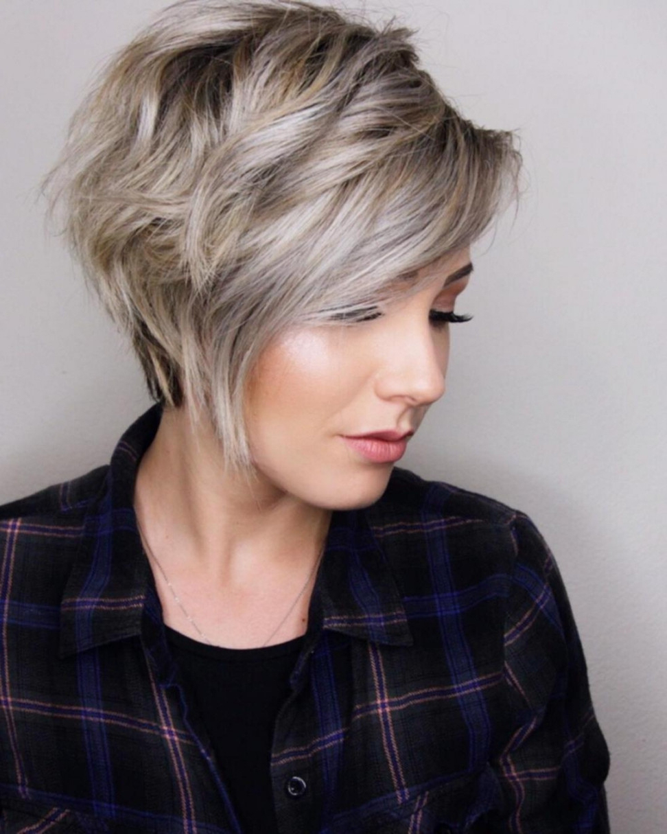 77 Short Hairstyles With Bangs For Thick Hair Best Of Womens With Regard To Short Haircuts For Thick Hair With Bangs (Gallery 11 of 25)