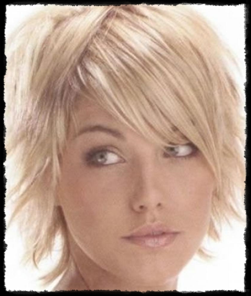 77 Short Layered Hairstyles For Fine Hair Over 50 Awesome Stunning Pertaining To Short Layered Hairstyles For Fine Hair Over 50 (Gallery 14 of 25)