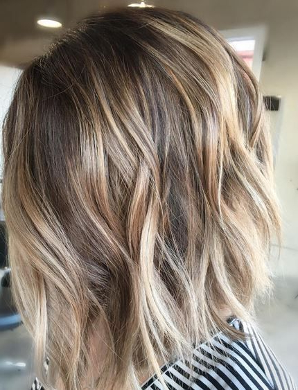 79 Hair Color Ideas For Short Hair   Hair & Beauty   Pinterest With Stacked Blonde Balayage Pixie Hairstyles For Brunettes (View 3 of 25)