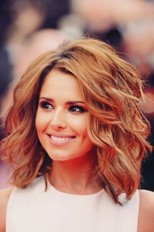 8 Easy Medium Wavy Hairstyle Ideas – Popular Haircuts For Wavy Free Flowing Messy Ponytail Hairstyles (Gallery 21 of 25)
