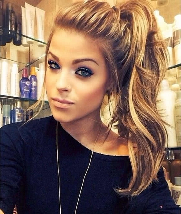 8 Sexy Ideas For Your Long Hair – Youqueen Regarding Pumped Up Side Pony Hairstyles (View 10 of 25)