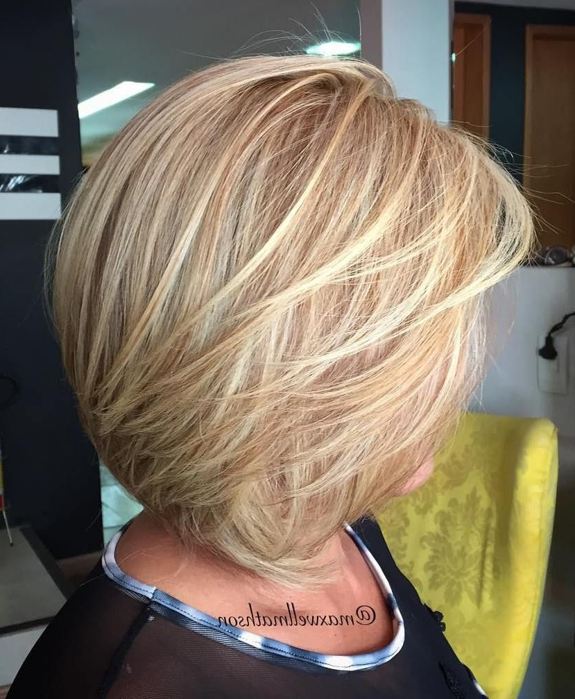 80 Best Modern Haircuts And Hairstyles For Women Over 50   Hair Regarding Short Bob Hairstyles For Over 50S (Gallery 23 of 25)