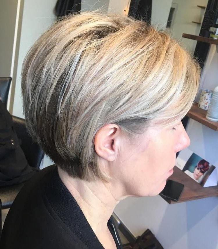 80 Best Modern Haircuts And Hairstyles For Women Over 50 | Layered With Modern Chocolate Bob Haircuts (Gallery 15 of 25)