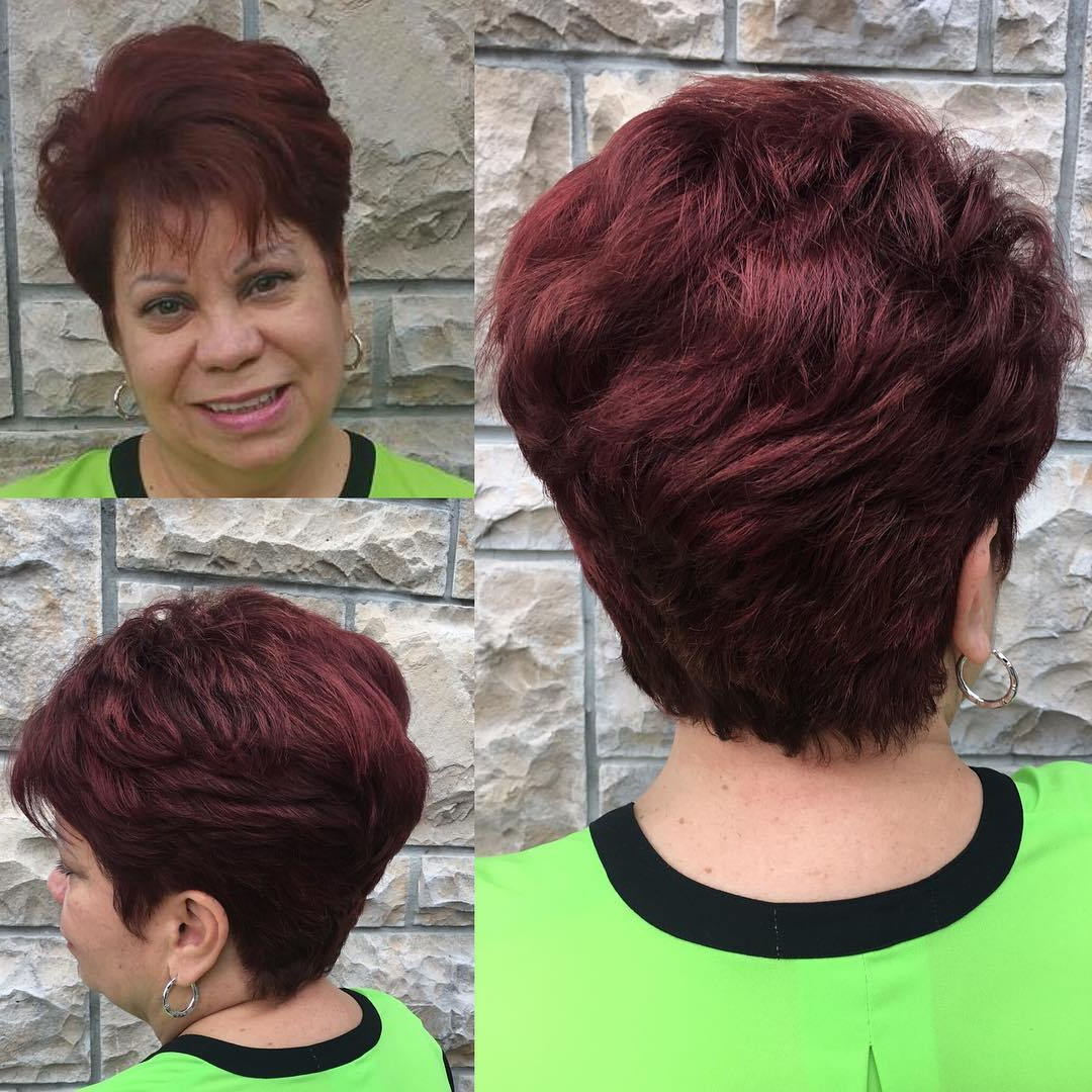 80 Classy And Simple Short Hairstyles For Women Over 50 – Page 21 throughout Short Cuts For Over 50