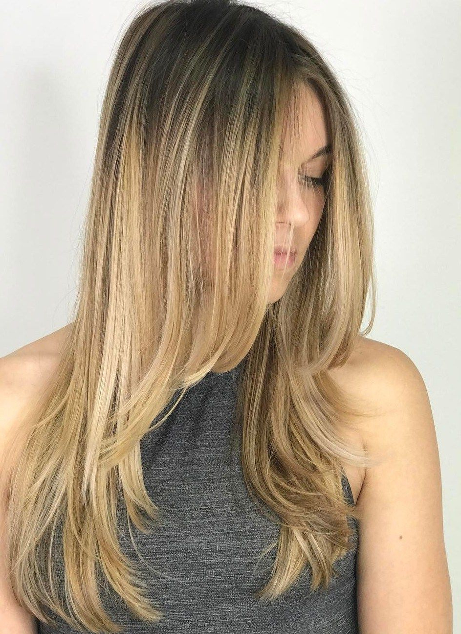 80 Cute Layered Hairstyles And Cuts For Long Hair In 2018 | Hair with regard to Short Curly Hairstyles With Long Face-Framing Pieces