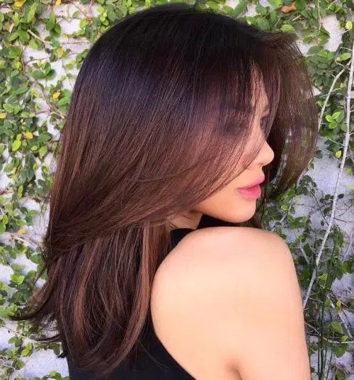 80 Medium Length Haircuts For Thick Hair That You'll Love – Page 72 With Pretty And Sleek Hairstyles For Thick Hair (Gallery 2 of 25)