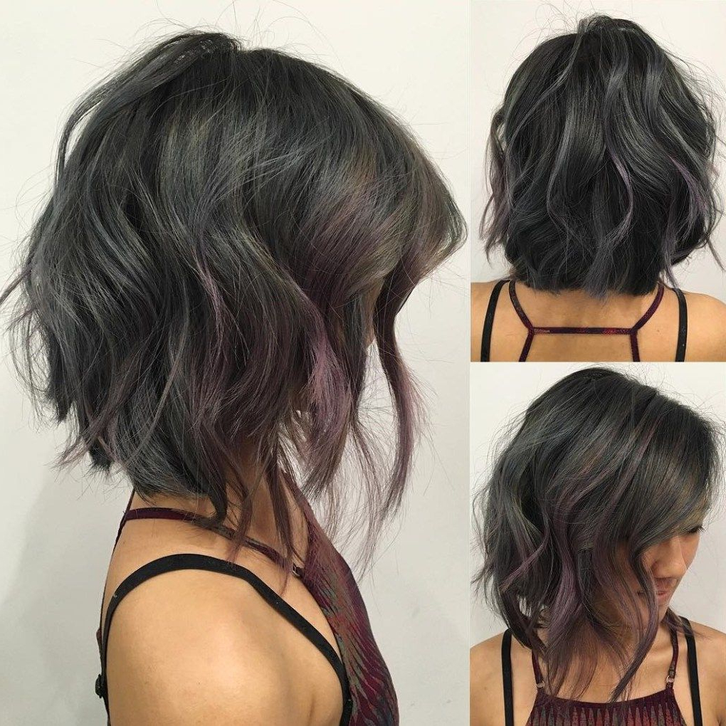 80 Sensational Medium Length Haircuts For Thick Hair In 2018 | Hair With Regard To Black Curly Inverted Bob Hairstyles For Thick Hair (Gallery 1 of 25)