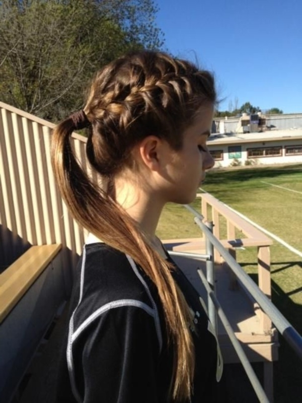 82 Of The Most Romantic And Inspiring Side Ponytails Pertaining To Unique Braided Up Do Ponytail Hairstyles (Gallery 22 of 25)
