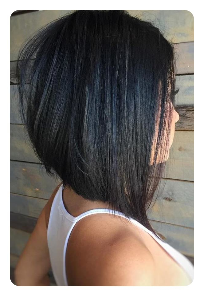83 Popular Inverted Bob Hairstyles For This Season intended for Sleek Rounded Inverted Bob Hairstyles