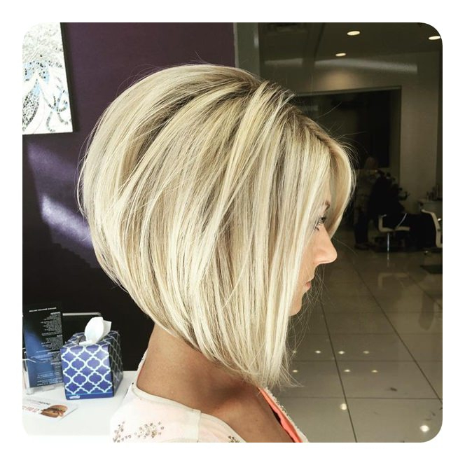 83 Popular Inverted Bob Hairstyles For This Season with regard to Angled Bob Hairstyles