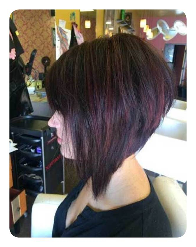 83 Popular Inverted Bob Hairstyles For This Season With Regard To Black Inverted Bob Hairstyles With Choppy Layers (Gallery 19 of 25)