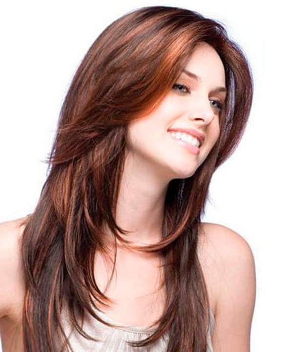 84 Fun Layered Haircut Ideas For Long Hair - Style Easily inside Short Haircuts With Long Front Layers