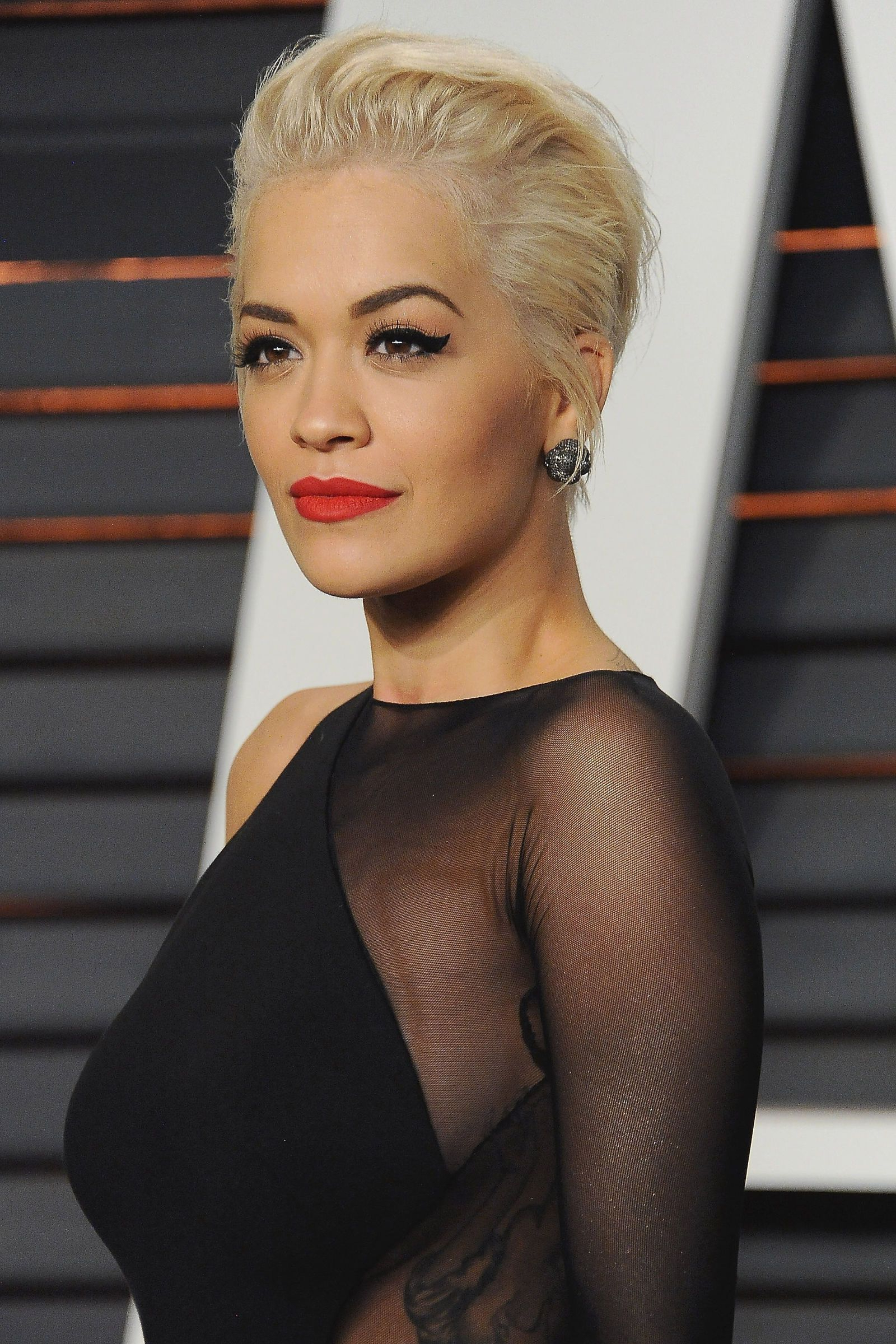 87 Cute Short Hairstyles—And How To Pull Them Off   Food   Pinterest Within Rita Ora Short Hairstyles (Gallery 19 of 25)